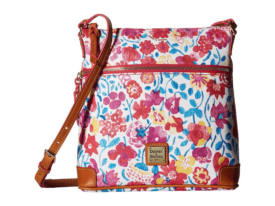 Dooney & Bourke - Marabelle Crossbody (White/Natural Trim) Cross Body Handbags