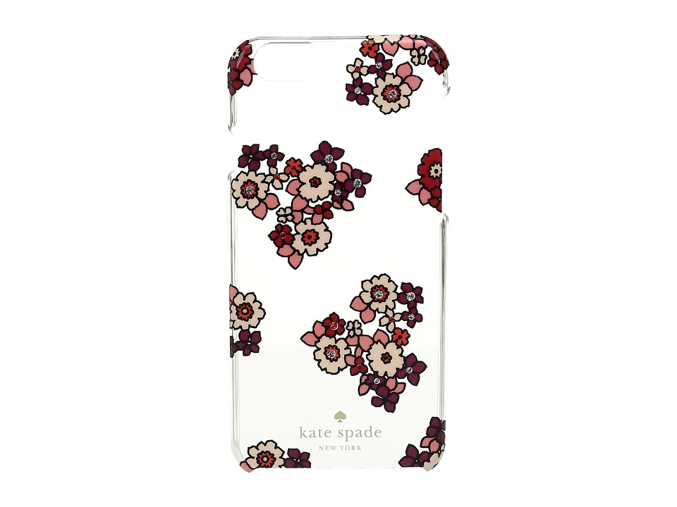 Kate Spade New York - Jeweled Ditzy Burst Phone Case for iPhone 6 (Clear Multi) Cell Phone Case