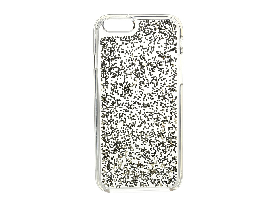 Kate Spade New York - Glitter Clear Phone Case for iPhone 6 (Gold) Cell Phone Case