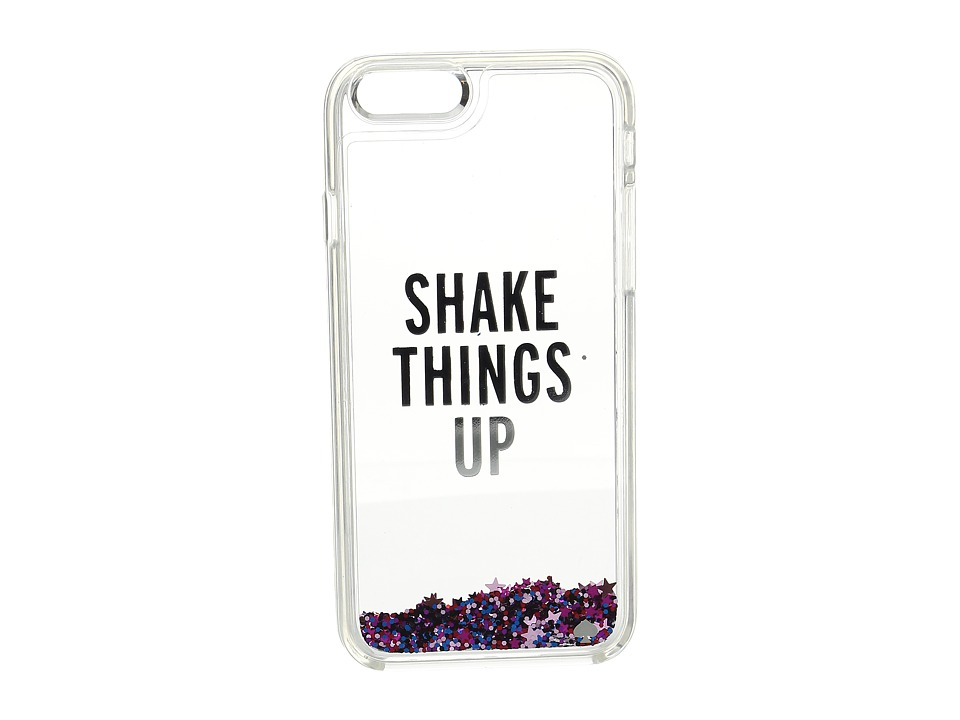 Kate Spade New York - Shake Things Up Liquid Glitter Phone Case for iPhone 6 (Jewel Glitter) Cell Phone Case