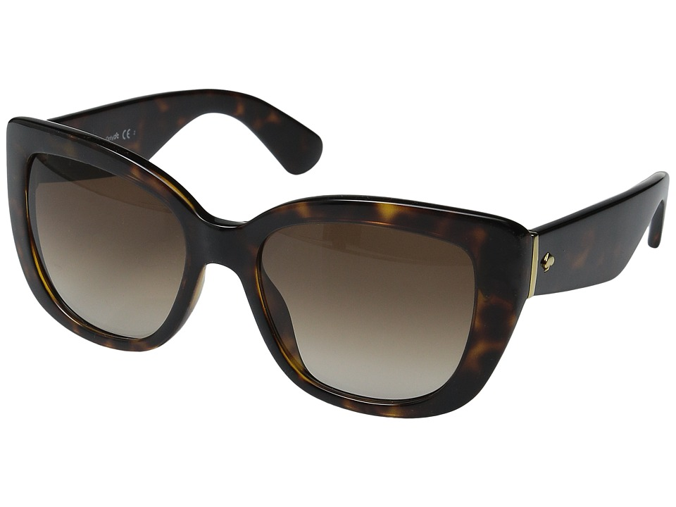 Kate Spade New York - Andrina/S (Havana/Warm Brown Gradient) Fashion Sunglasses