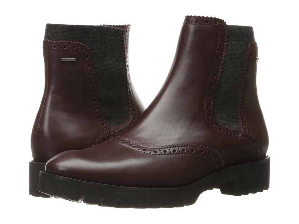Geox - WASHLEENABX3 (Dark Burgundy) Women's Shoes