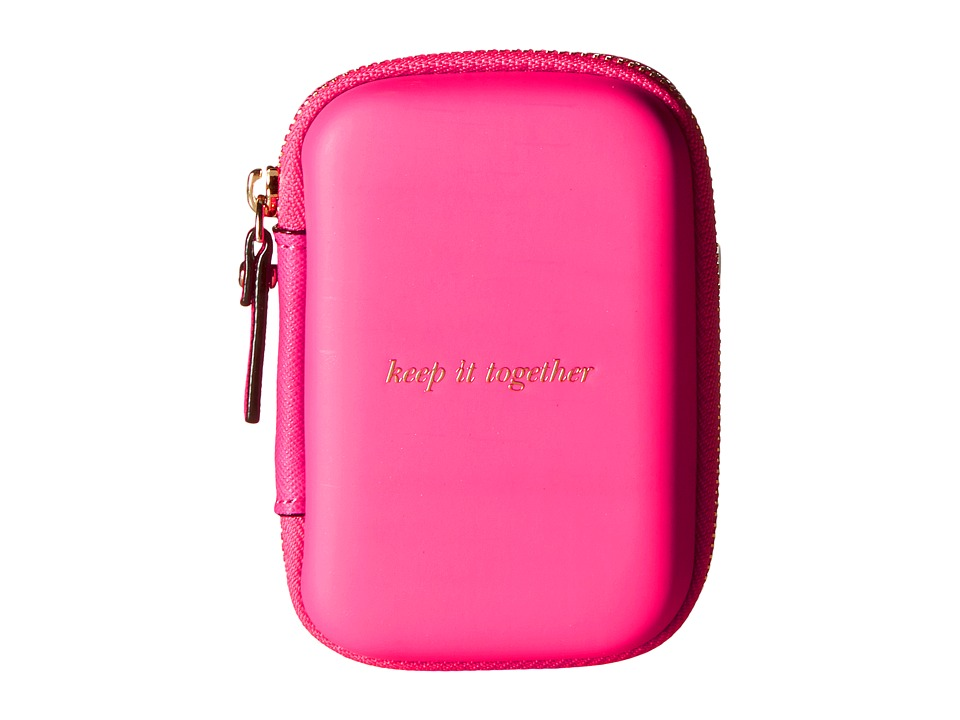 Kate Spade New York - Glitter Ear Buds and Portable Charger Gift Set (Pink) Wallet