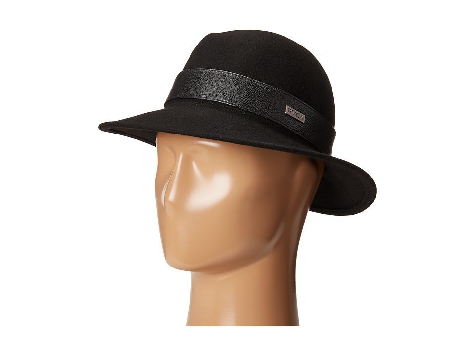 RVCA - Fred Fedora (Black) Fedora Hats