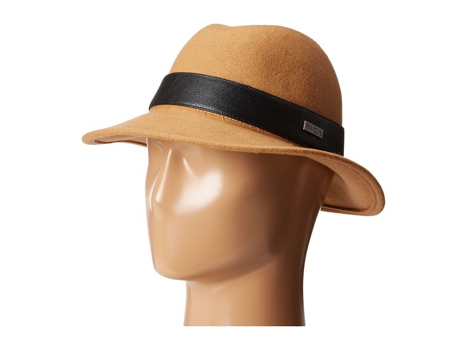 RVCA - Fred Fedora (Camel) Fedora Hats