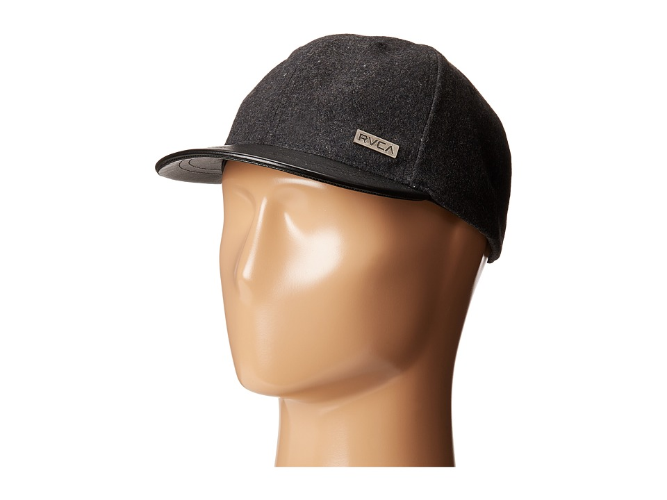 RVCA - Buffalo Baseball (Black) Baseball Caps