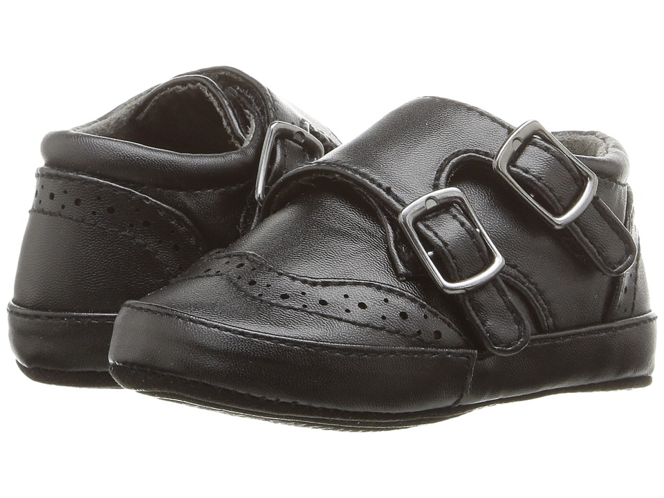 Kenneth Cole Reaction Kids - Baby Club Monk (Infant) (Black) Boy's Shoes