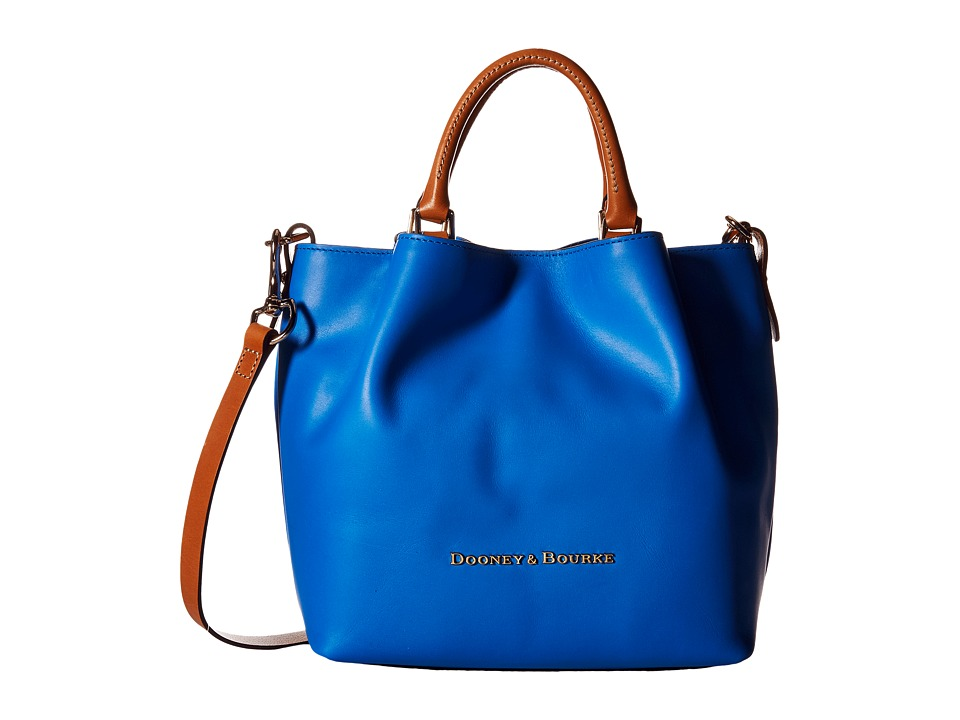 Dooney & Bourke - City Small Barlow (Ocean/Natural Trim) Handbags