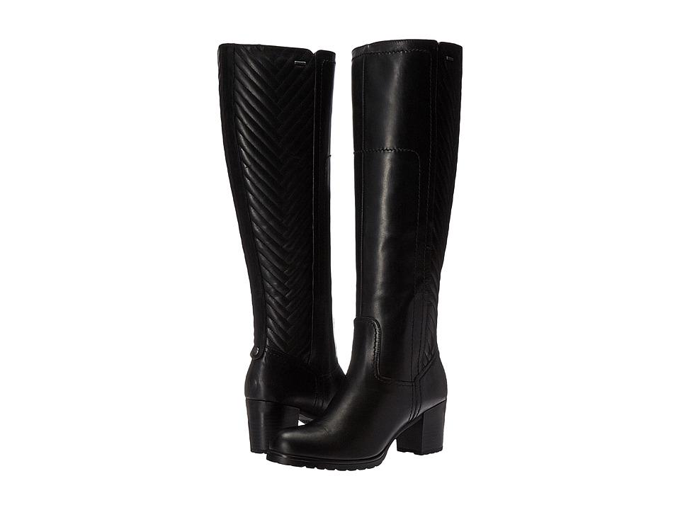 Geox - WLISEABX15 (Black) Women's Shoes