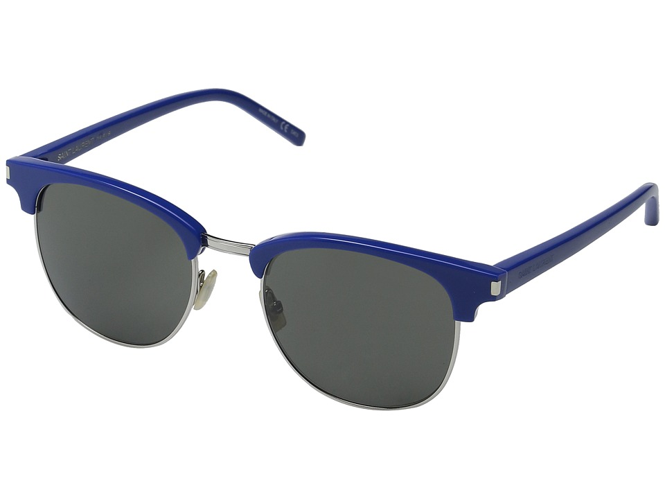 Saint Laurent - SL 108 Surf (Blue/Grey) Fashion Sunglasses
