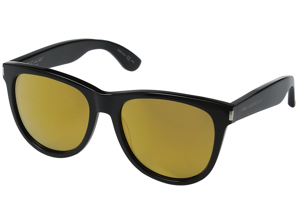 Saint Laurent - SL 101 Surf (Black/Gold Mirror) Fashion Sunglasses
