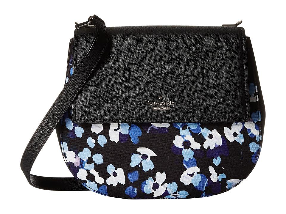 Kate Spade New York - Cameron Street Floral Byrdie (Black Multi) Handbags