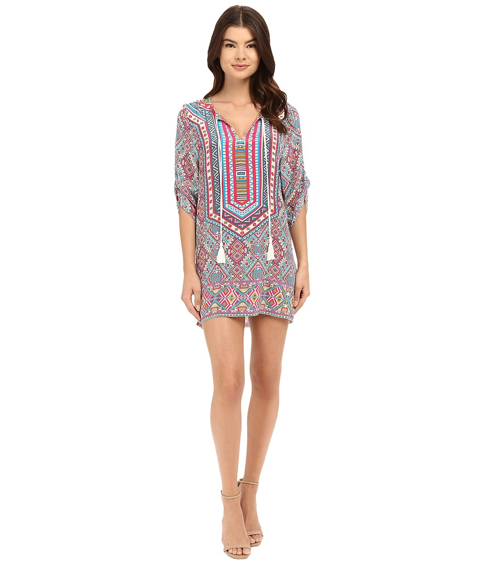 Tolani - Reese Tunic Dress (Pastel) Women's Dress