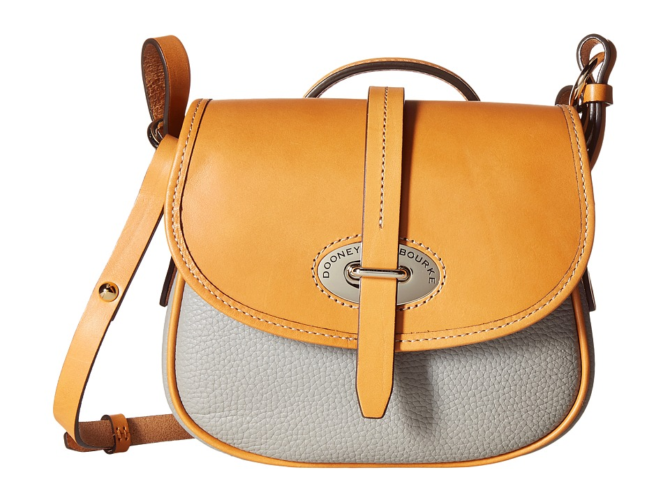 Dooney & Bourke - Verona Bionda Cristina (Smoke/Butterscotch Trim) Handbags