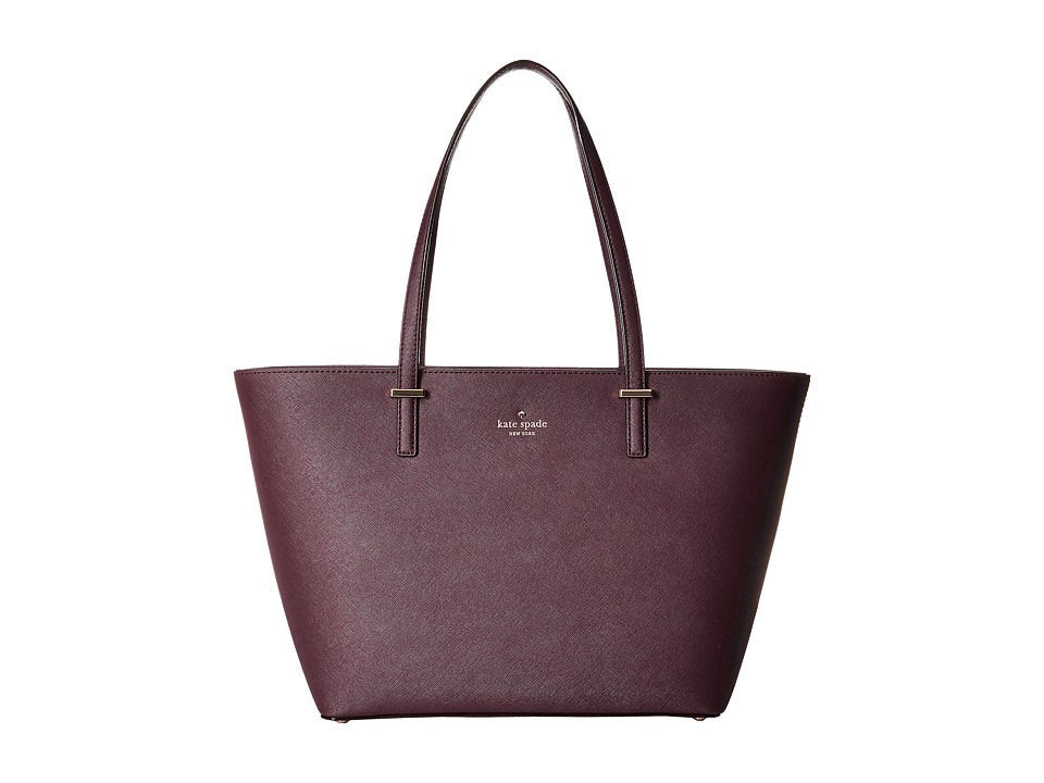 Kate Spade New York - Cedar Street Small Harmony (Mahogany) Tote Handbags
