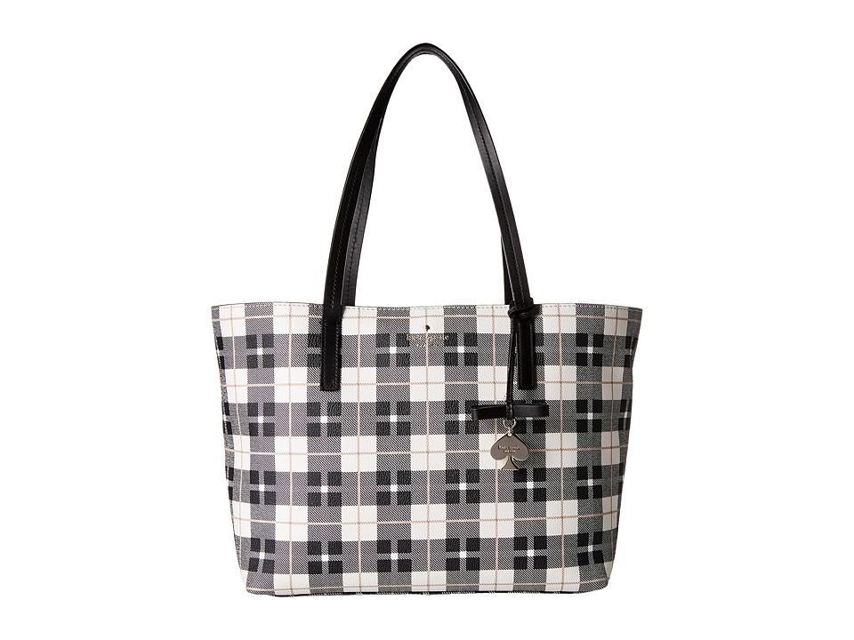 Kate Spade New York - Hawthorne Lane Plaid Ryan (Light Shale) Handbags