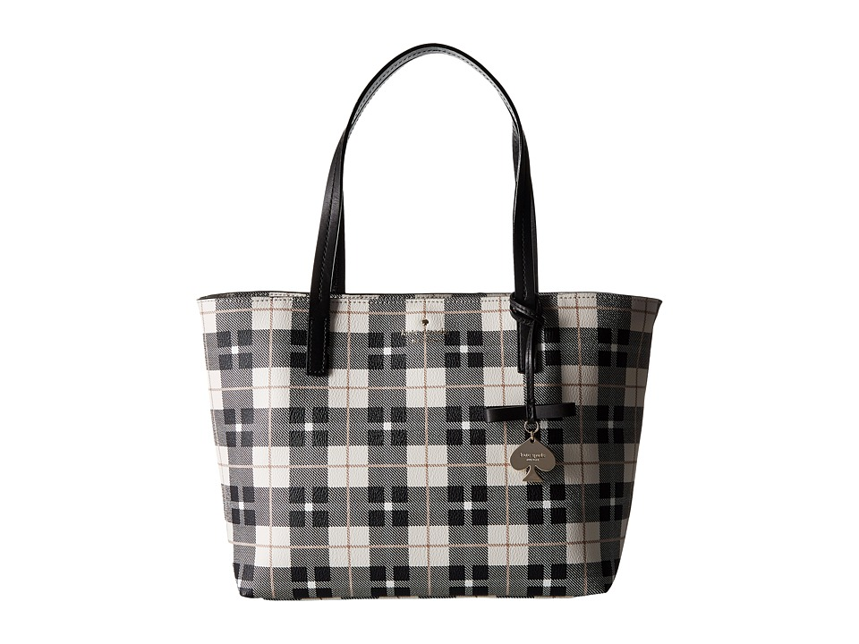 Kate Spade New York - Hawthorne Lane Plaid Small Ryan (Light Shale) Handbags