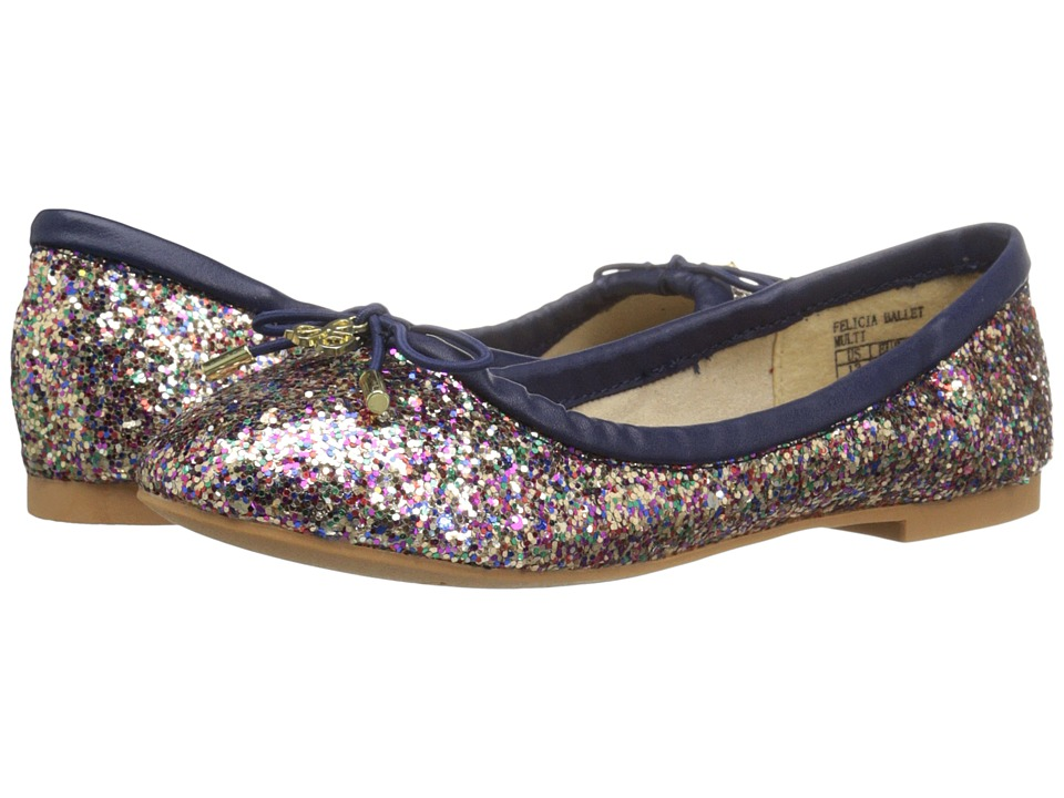 Sam Edelman Kids - Felicia Ballet (Little Kid/Big Kid) (Multi Glitter) Girls Shoes