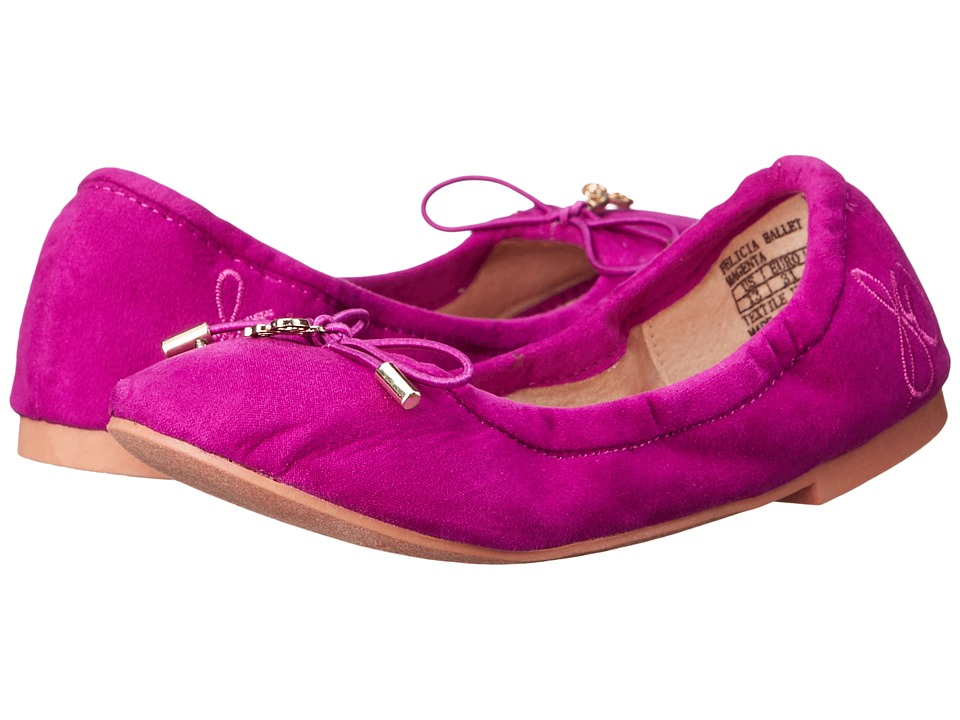 Sam Edelman Kids - Felicia Ballet (Little Kid/Big Kid) (Magenta) Girls Shoes