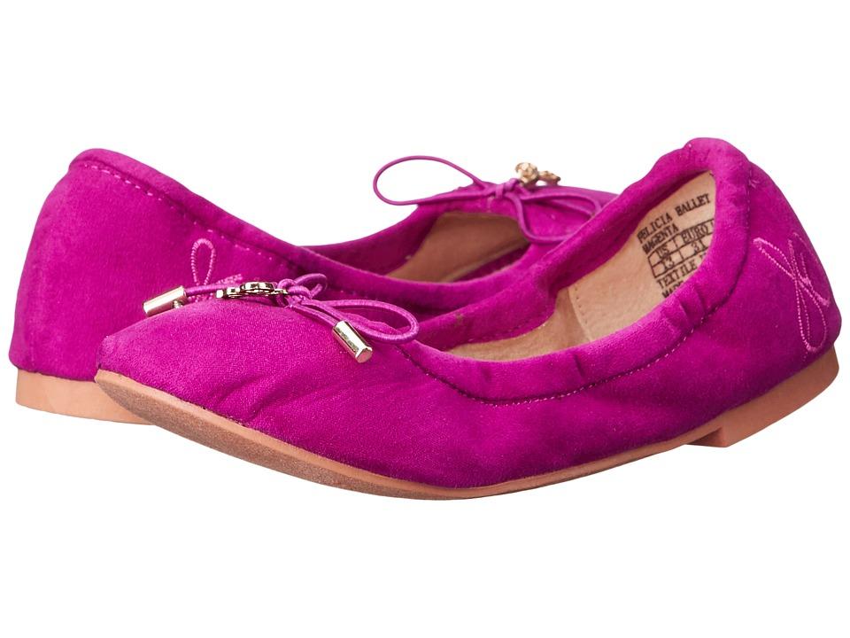 Sam Edelman Kids Felicia Ballet (Little Kid/Big Kid) (Magenta) Girls Shoes