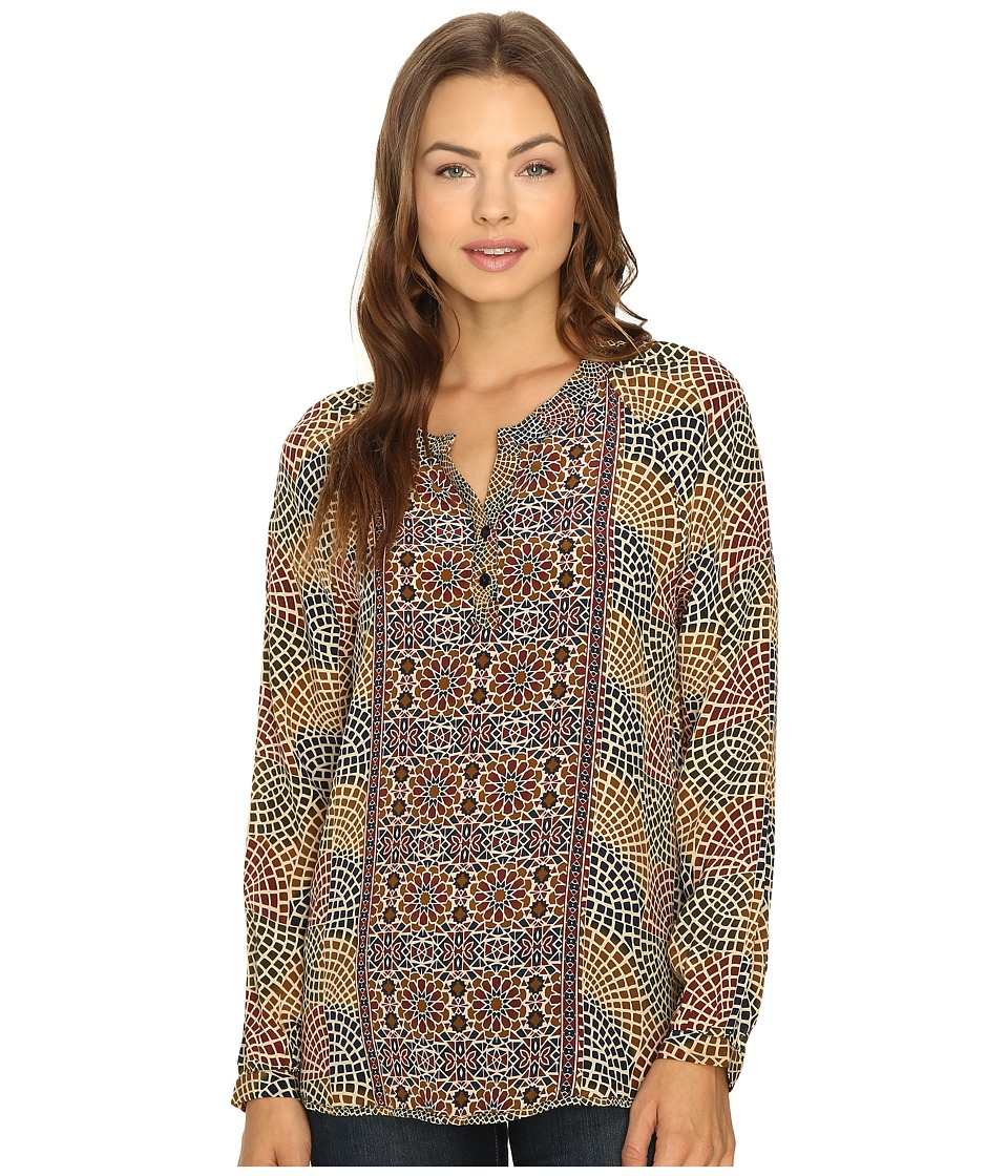 Tolani - Jill Top (Mosaic) Women's Blouse