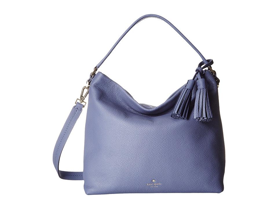 Kate Spade New York - Orchard Street Small Natalya (Oyster Blue) Handbags