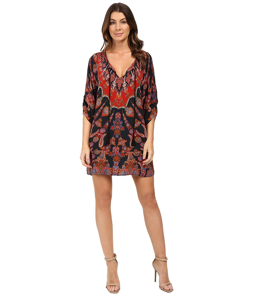 Tolani - Tori Tunic Dress (Raven) Women's Dress