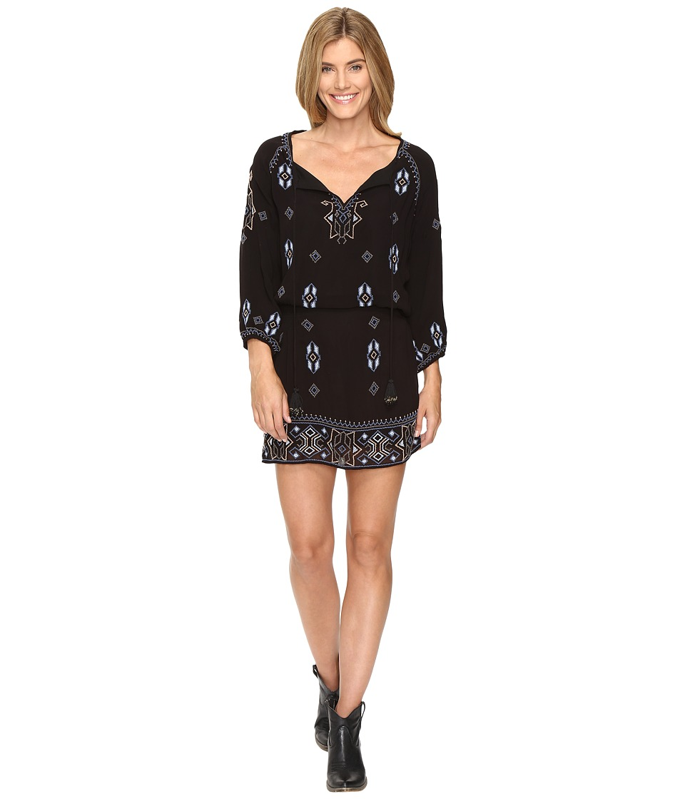 Tolani Celeste Embroidered Tunic Dress (Chambray) Women