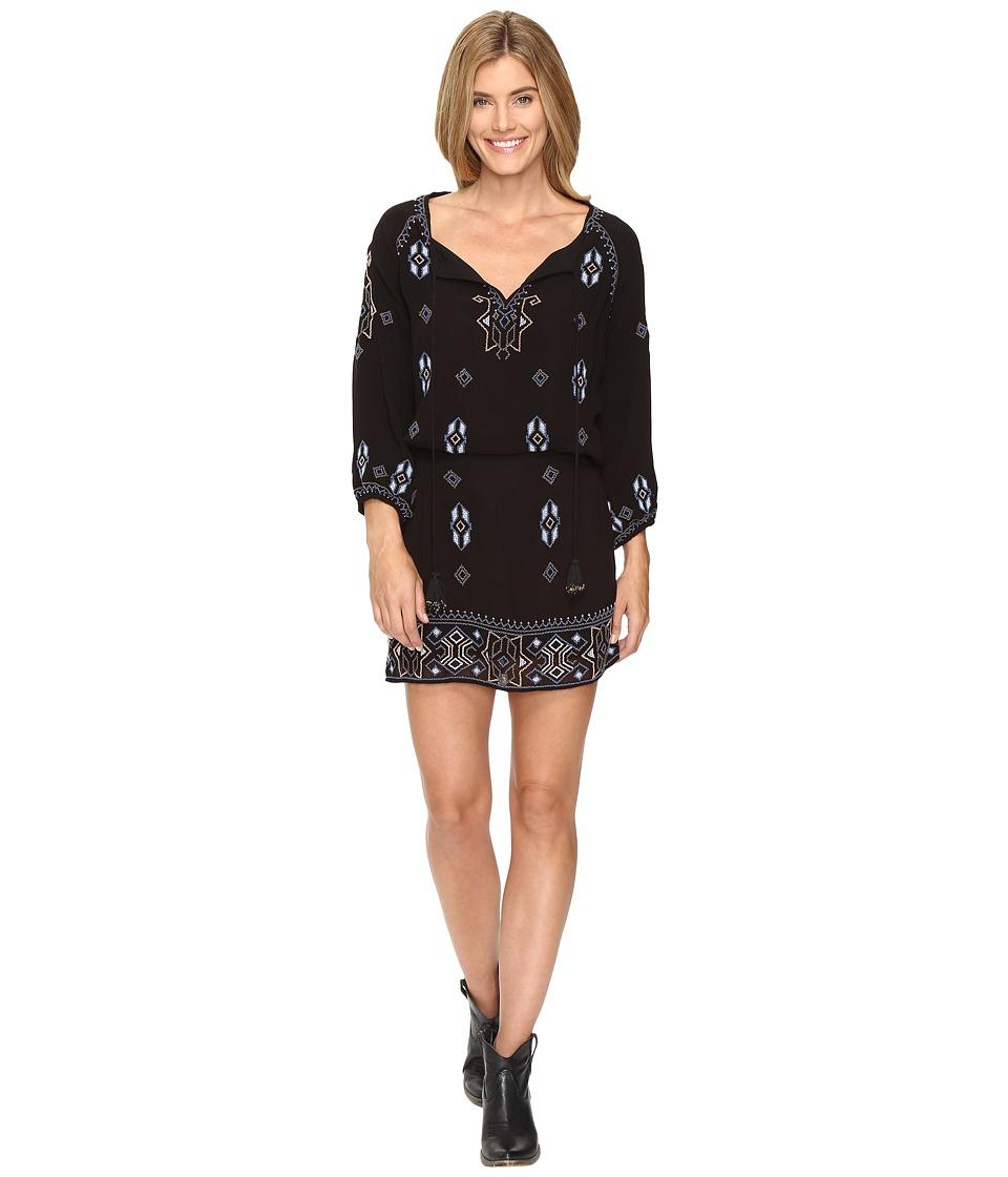 Tolani Celeste Embroidered Tunic Dress