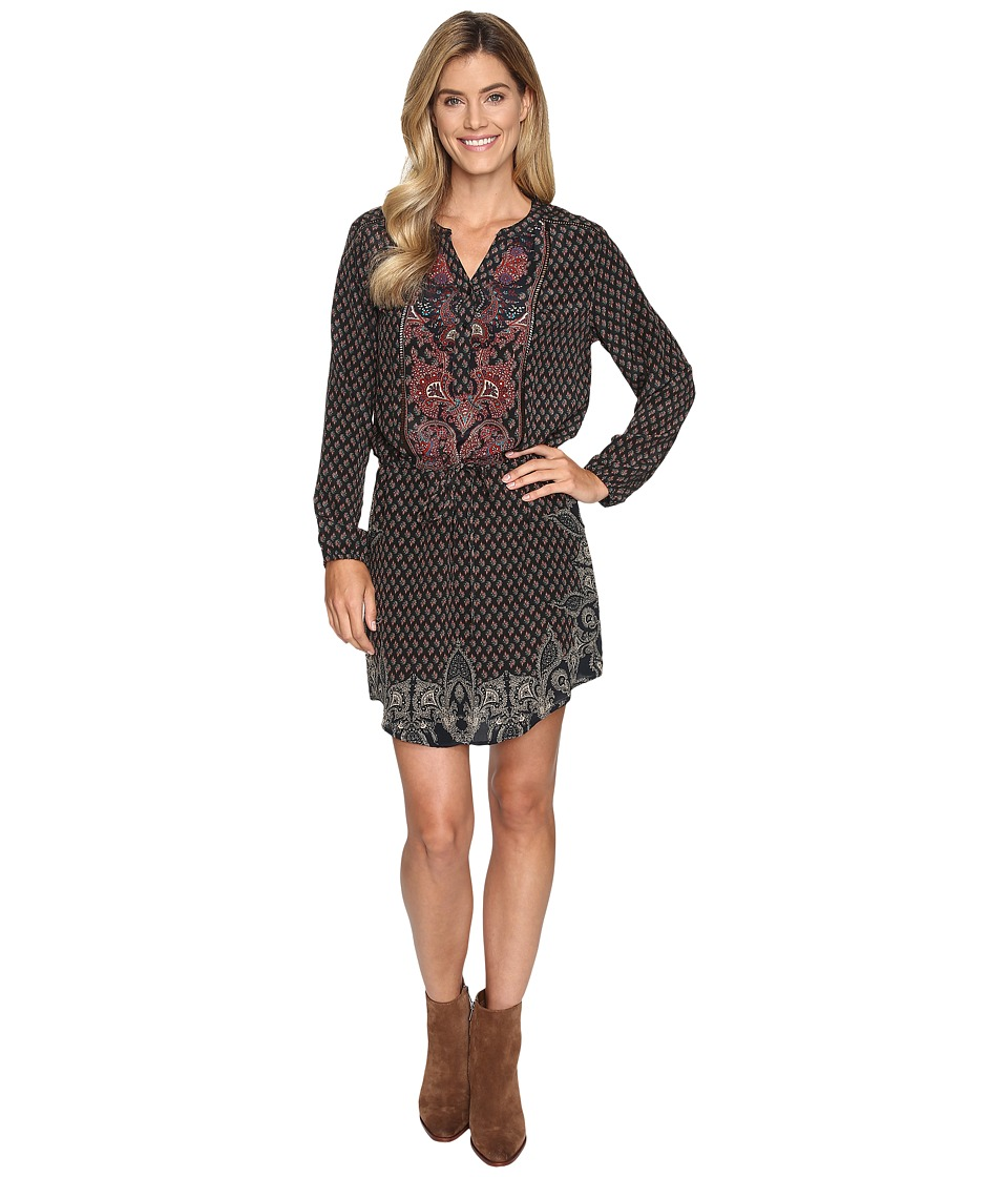 Tolani - Isabella Dress (Black Paisley) Women's Dress