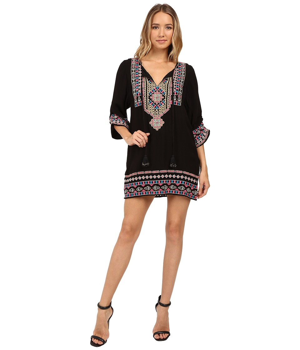 Tolani - Samantha Embroidered Dress (Tribal) Women's Dress