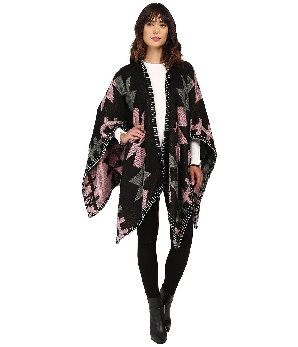 Tolani - Whip Stitch Kimono (Pink) Women's Clothing