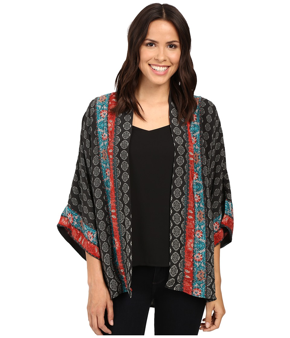Tolani - Yasmine Kimono (Charcoal) Women's Clothing