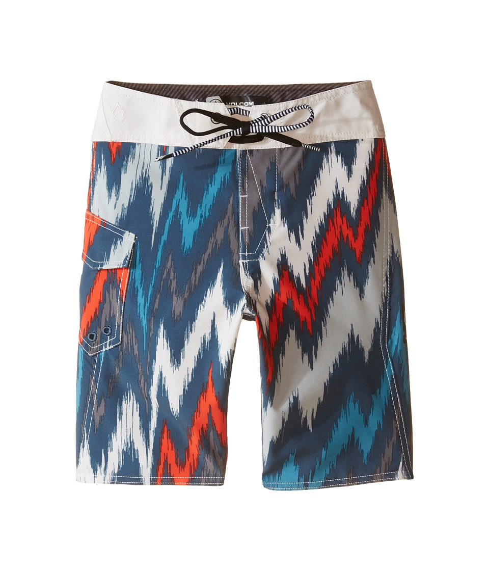 Volcom Kids - Frequency Mod Boardshorts (Big Kids) (Airforce Blue) Boy's Swimwear