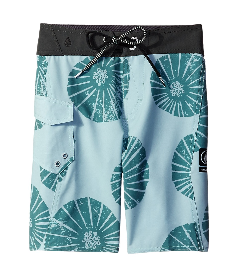 Volcom Kids - Summa Mod Boardshorts (Big Kids) (Sage) Boy's Swimwear