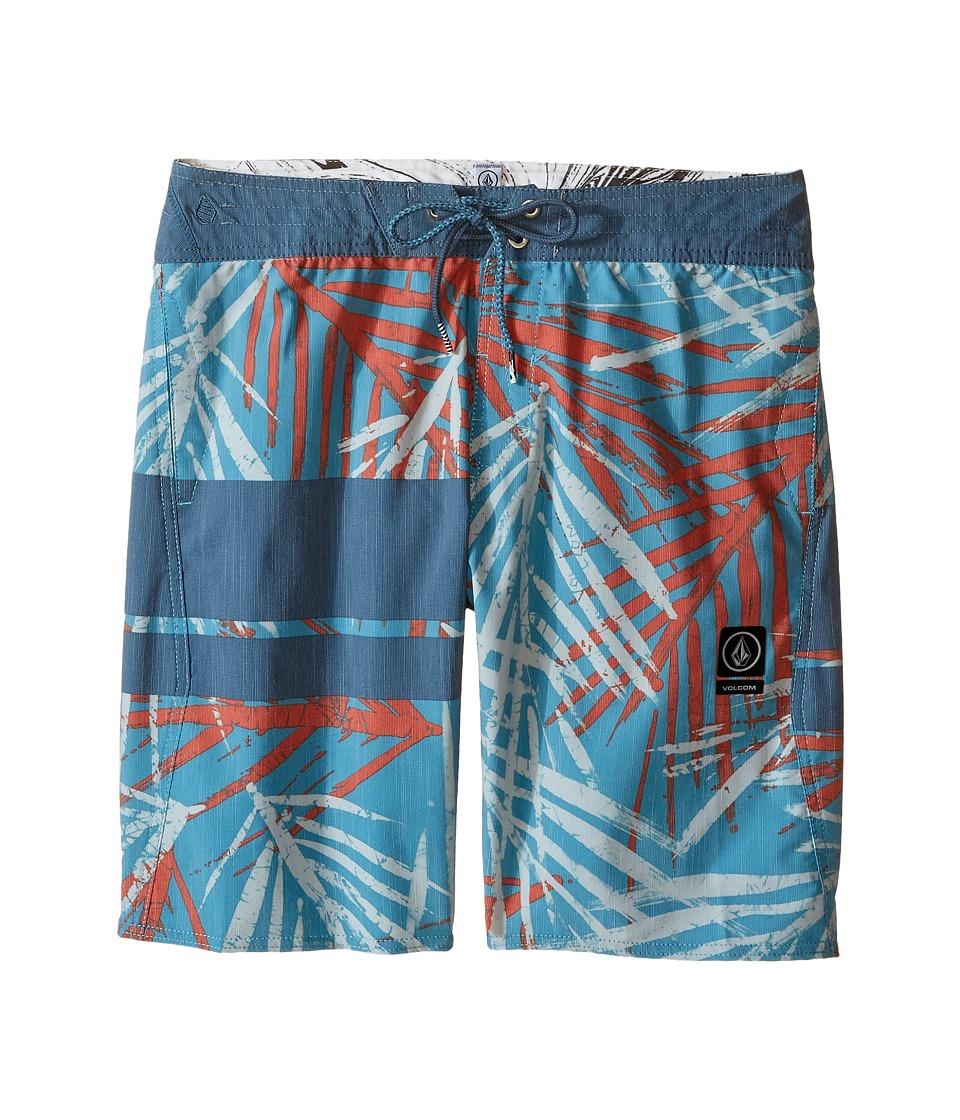 Volcom Kids 3 Quarta Slinger Boardshorts (Big Kids) (Harbor Blue) Boy