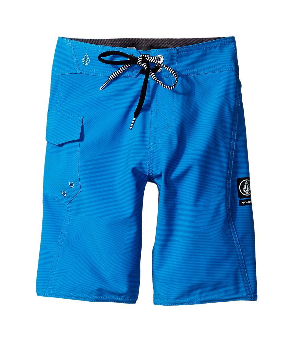 Volcom Kids - Stone Mod Boardshorts (Big Kids) (Bold Blue) Boy's Swimwear