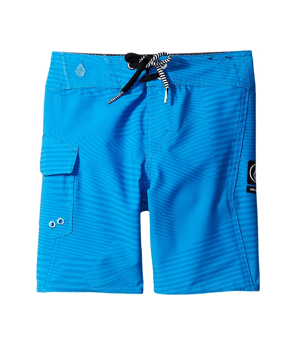 Volcom Kids - Stone Mod Boardshorts (Toddler/Little Kids) (Bold Blue) Boy's Swimwear