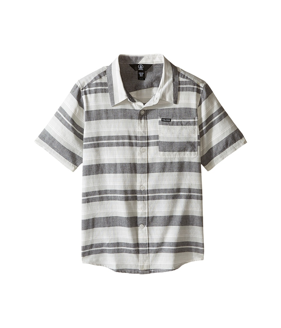 Volcom Kids - Camper Short Sleeve Top (Toddler/Little Kids) (Black) Boy's Short Sleeve Pullover