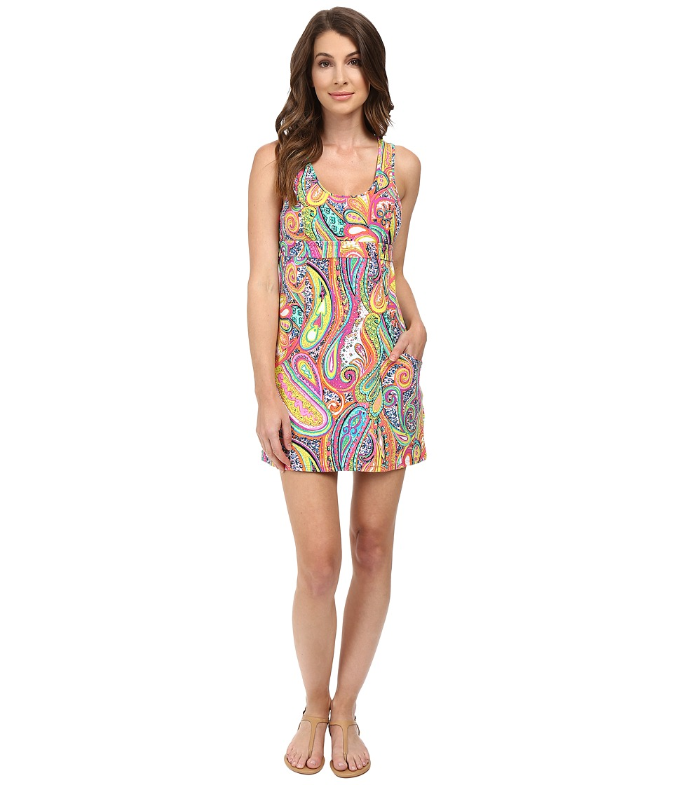 Trina Turk - Mediterranean Paisley Tennis Dress (Multi) Women's Dress
