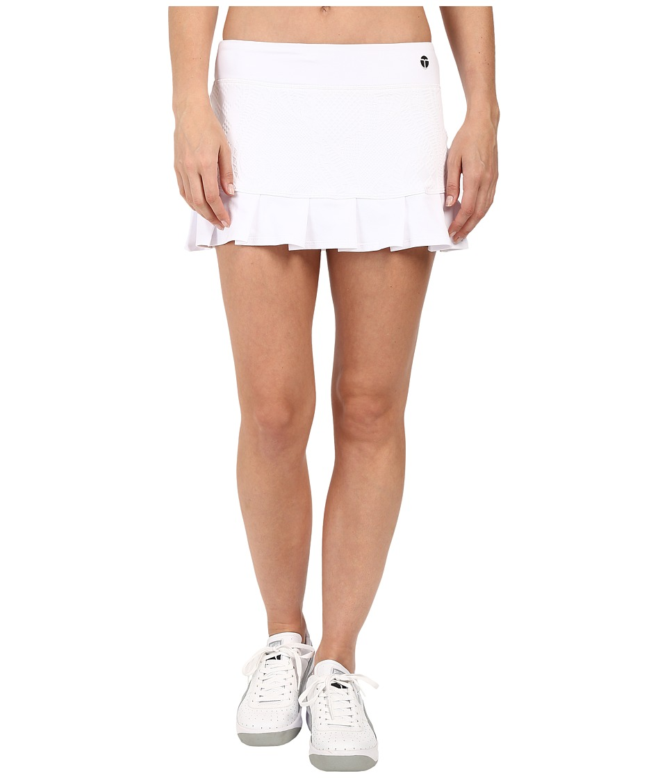 Trina Turk - Jacquard Solids Tennis Skirt (White) Women's Skirt