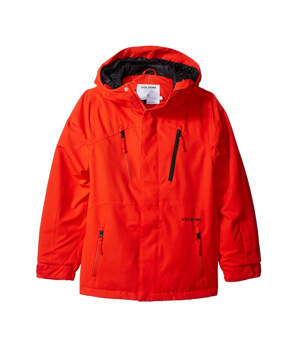 Volcom Kids - Garibaldi INS Jacket (Little Kids/Big Kids) (Fire Red) Boy's Coat