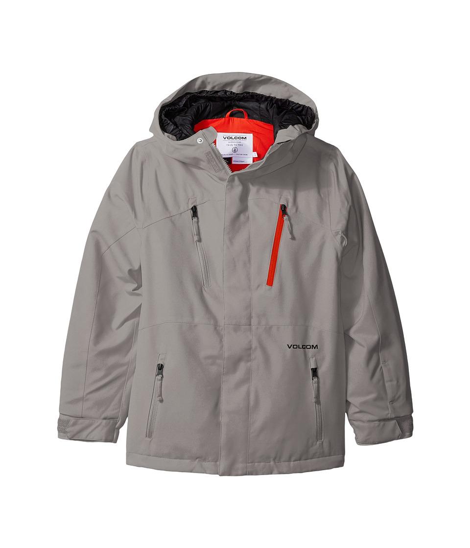 Volcom Kids - Garibaldi INS Jacket (Little Kids/Big Kids) (Grey) Boy's Coat