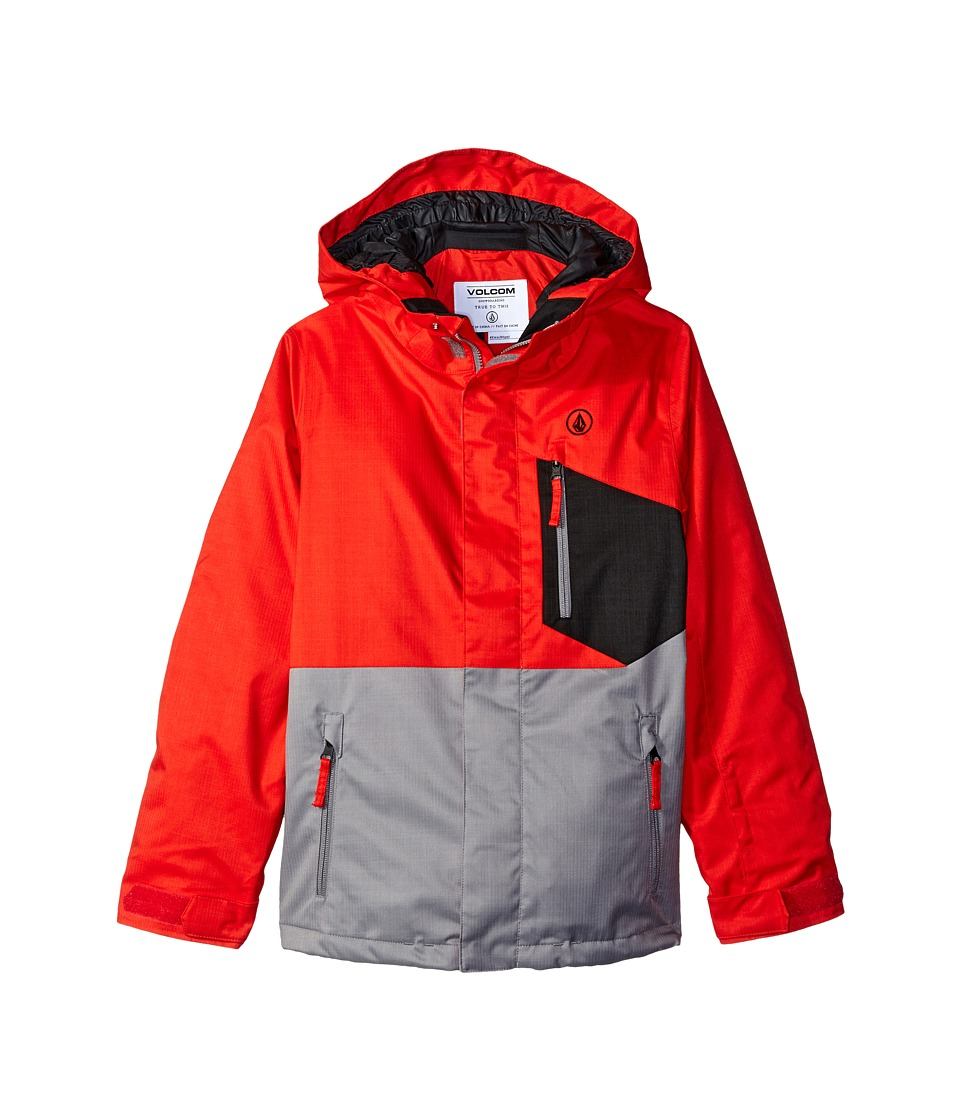 Volcom Kids - Elias INS Jacket (Little Kids/Big Kids) (Fire Red) Boy's Coat