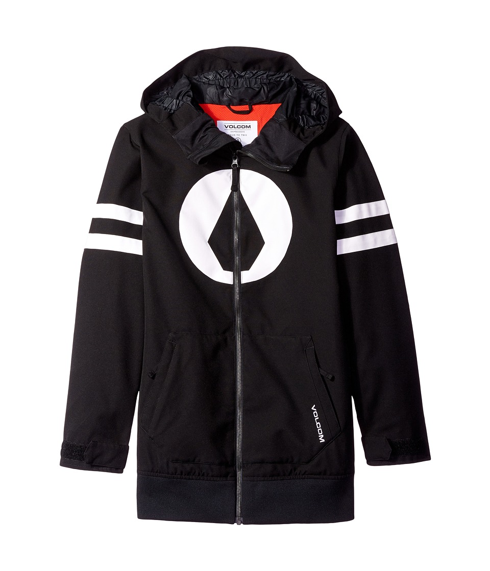 Volcom Kids - West Jacket (Little Kids/Big Kids) (Black) Boy's Coat
