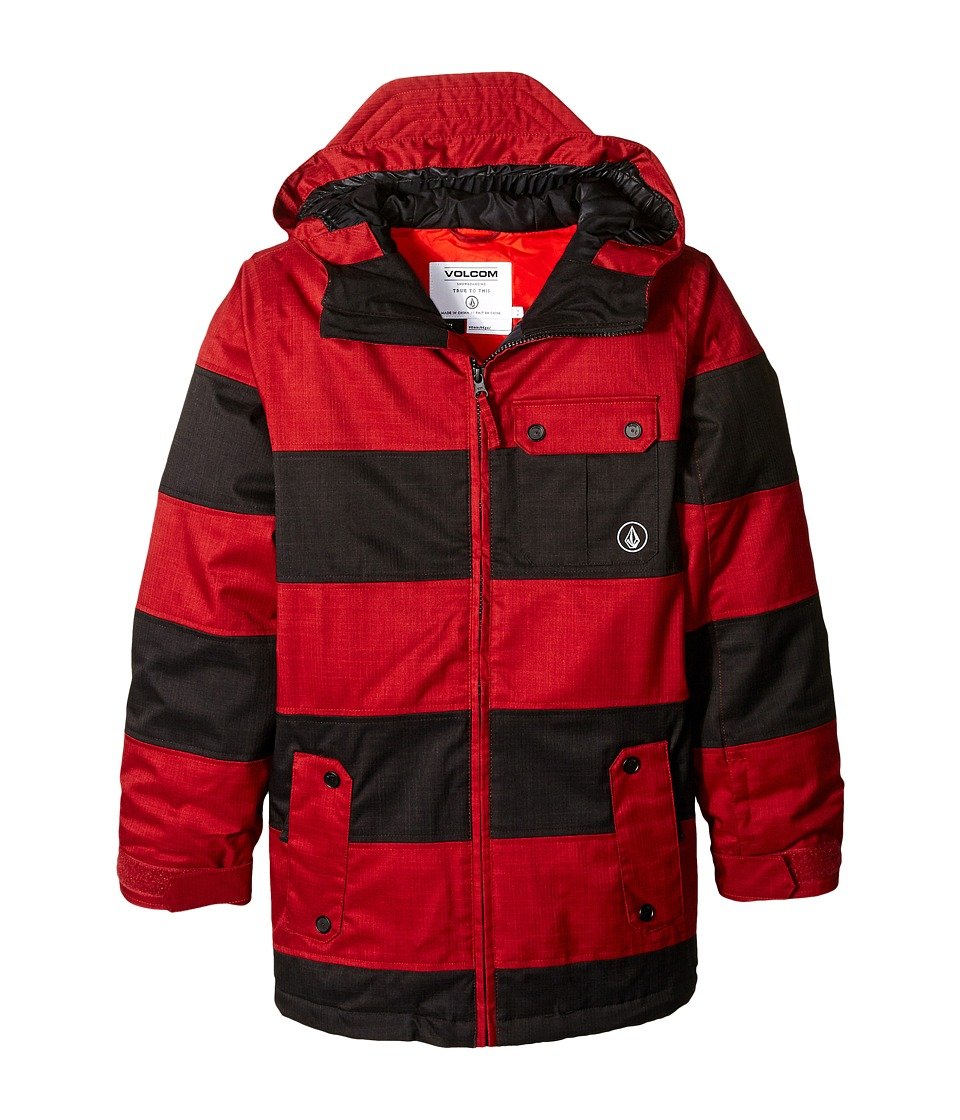 Volcom Kids - Cascade INS Jacket (Little Kids/Big Kids) (Blood Red) Boy's Coat