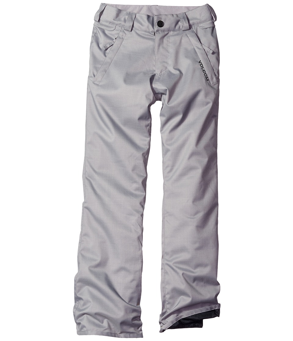 Volcom Kids - Freakin Snow Chino Pants (Big Kids) (Grey) Boy's Outerwear