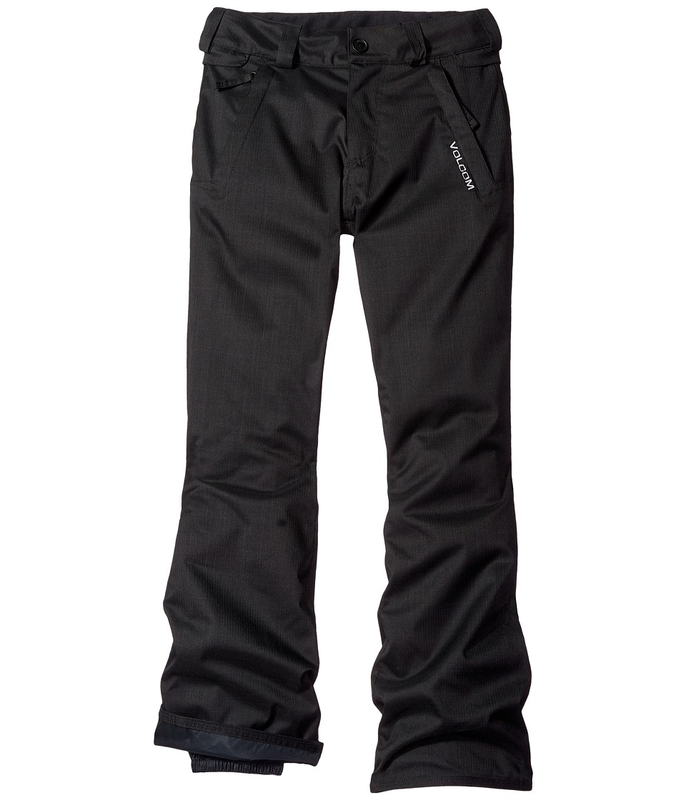 Volcom Kids - Freakin Snow Chino Pants (Little Kids/Big Kids) (Black) Boy's Outerwear