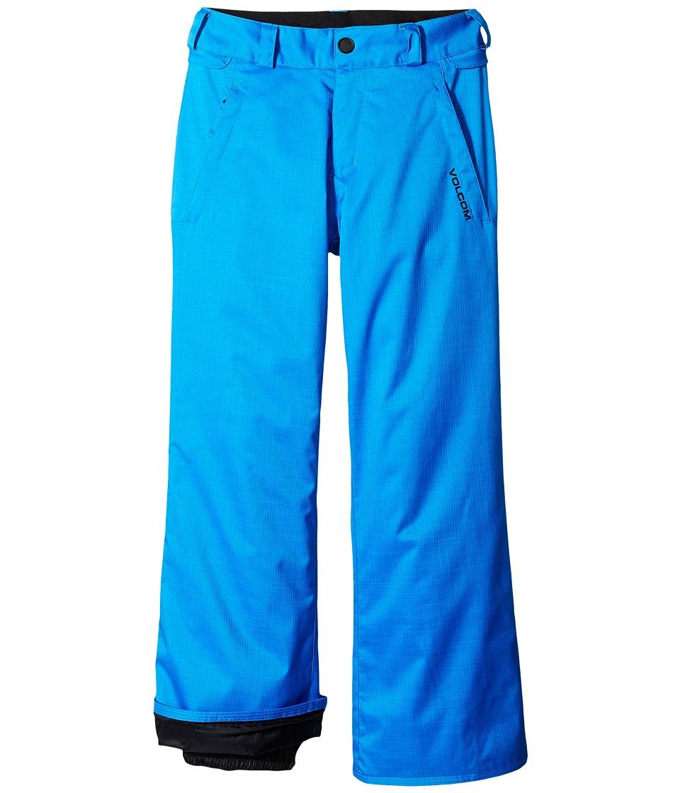 Volcom Kids - Explorer INS Pants (Little Kids/Big Kids) (Cyan Blue) Boy's Outerwear