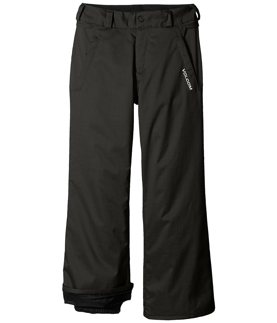 Volcom Kids - Explorer INS Pants (Little Kids/Big Kids) (Black) Boy's Outerwear